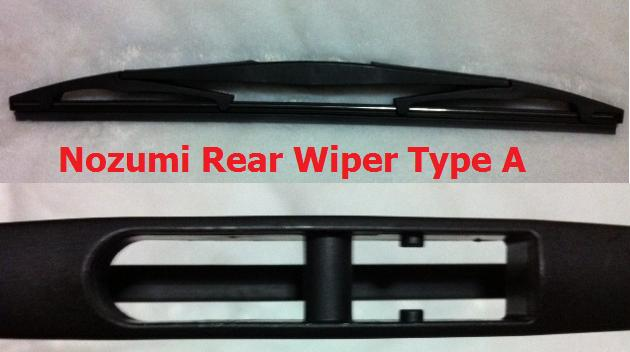 Toyota Wish Nozumi Rear Wiper
